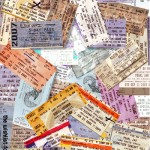 A Box Full of Ticket Stubs